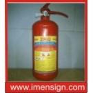 کپسول آتش نشانی پودر و گاز 2 کیلو گرمی